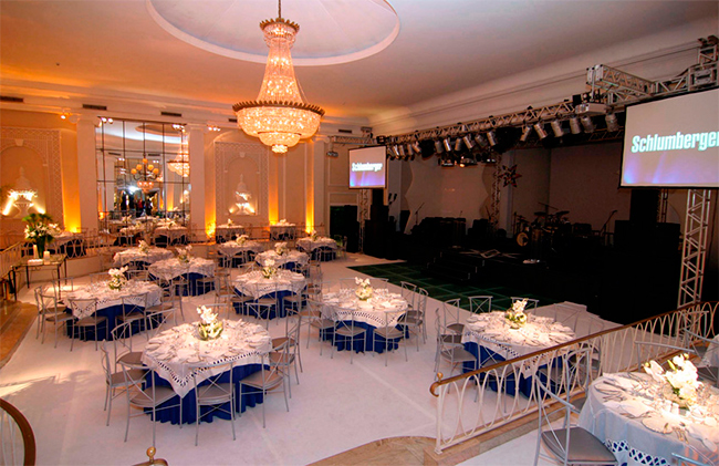 Copacabana Palace evento Schlumberger